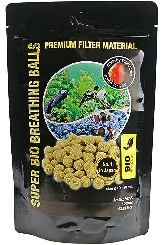 Bio Bolas Material Filtrante Acuario 1L - Super Bio Breathing Balls Discusfood: Amazon.es: Industria, empresas y ciencia