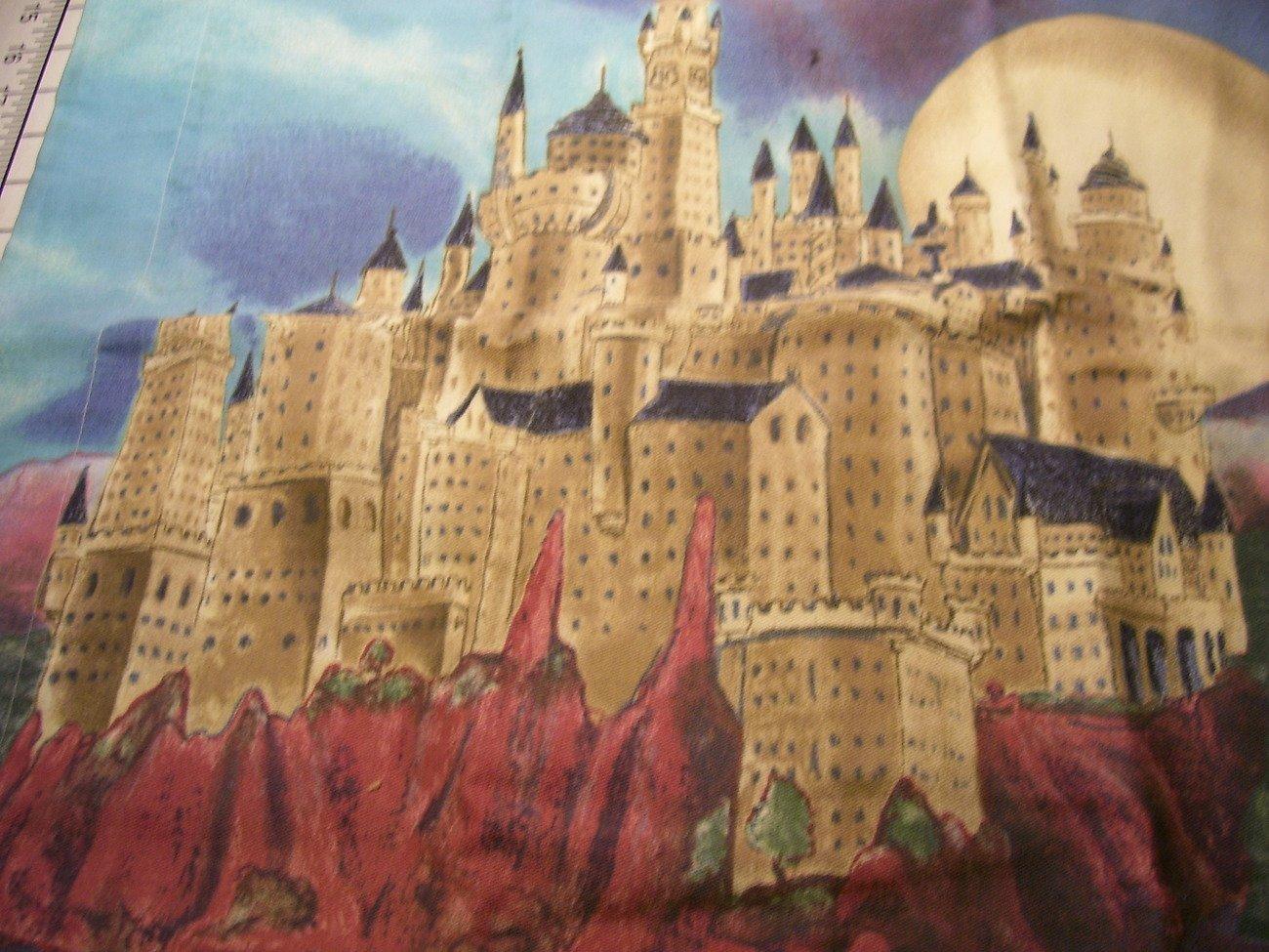 Harry Potter Standard Pillow Sham ''Cloak of Dreams'' Hogwarts School