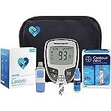 OWell Bayer Contour NEXT EZ Complete Diabetes Blood Glucose Testing Kit, METER, 50 Test Strips, 50 Lancets, Lancing Device, Control Solution, Manual, Log Book & Carry Case