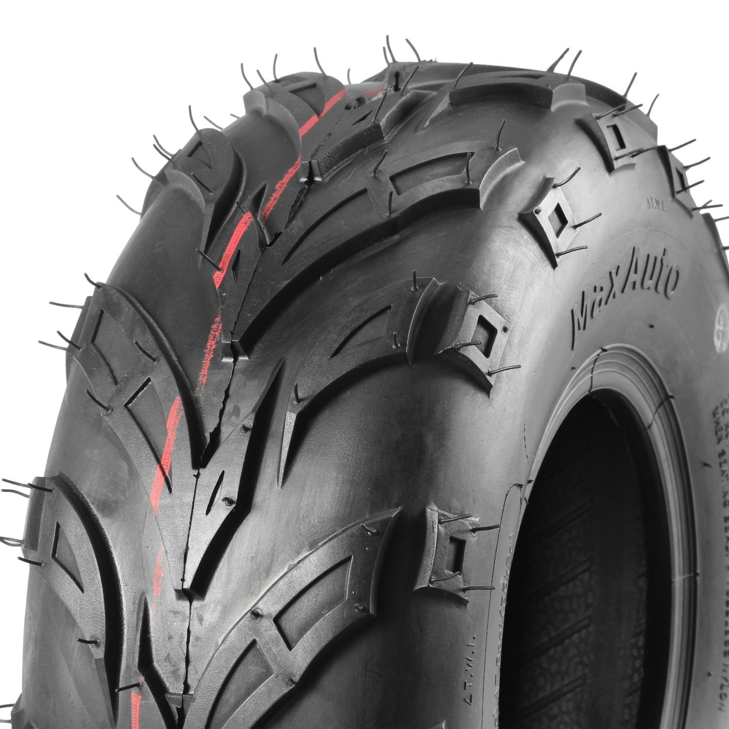Pack of 4 Sport ATV Tires 145/70-6, 145x70-6 4Ply Go-Kart Lawn mini bike Tires by MaxAuto (Image #6)