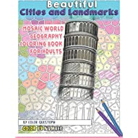Beautiful Cities and Landmarks Color By Number