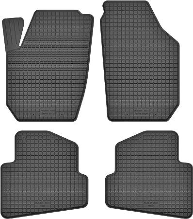 Ko Rubbermat Gummimatten Fußmatten 1 5 Cm Rand Geeignet Zur Skoda Roomster Bj 2006 2015 Ideal Angepasst 4 Teile Ein Set Auto