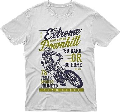 Fm10 Camiseta The Extreme Downhill bicicleta MTB Mountain Bike BMX Sport: Amazon.es: Ropa y accesorios