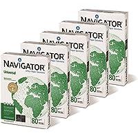 Caja de 5 paquetes 2500 Folios Navigator Universal