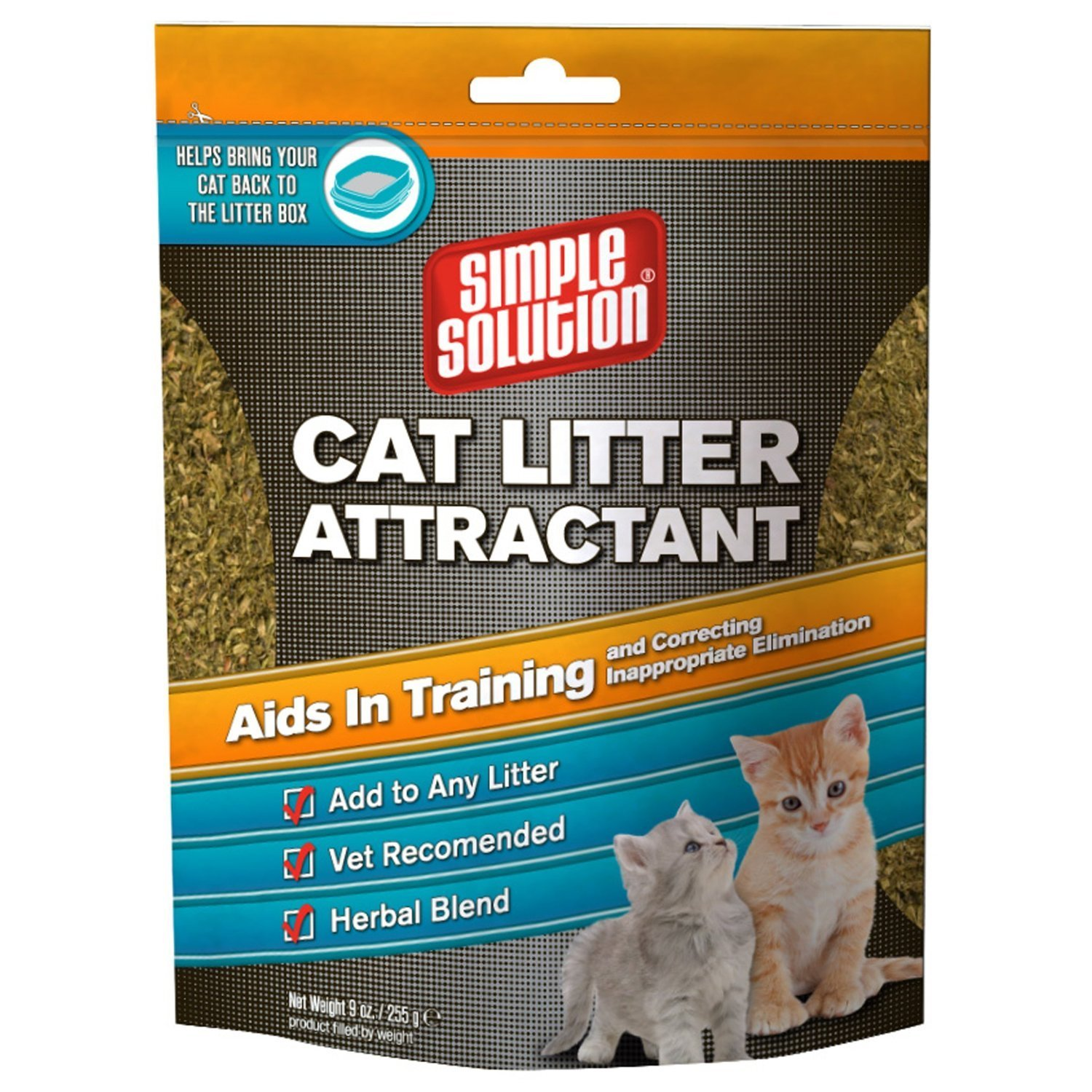 Simple Solution Cat Litter Attractant 9 Ounce