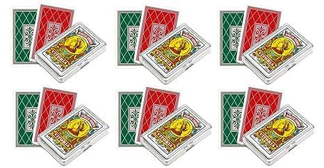 Outletdelocio. Pack de 6 Baraja española Fournier. 40 cartas ...