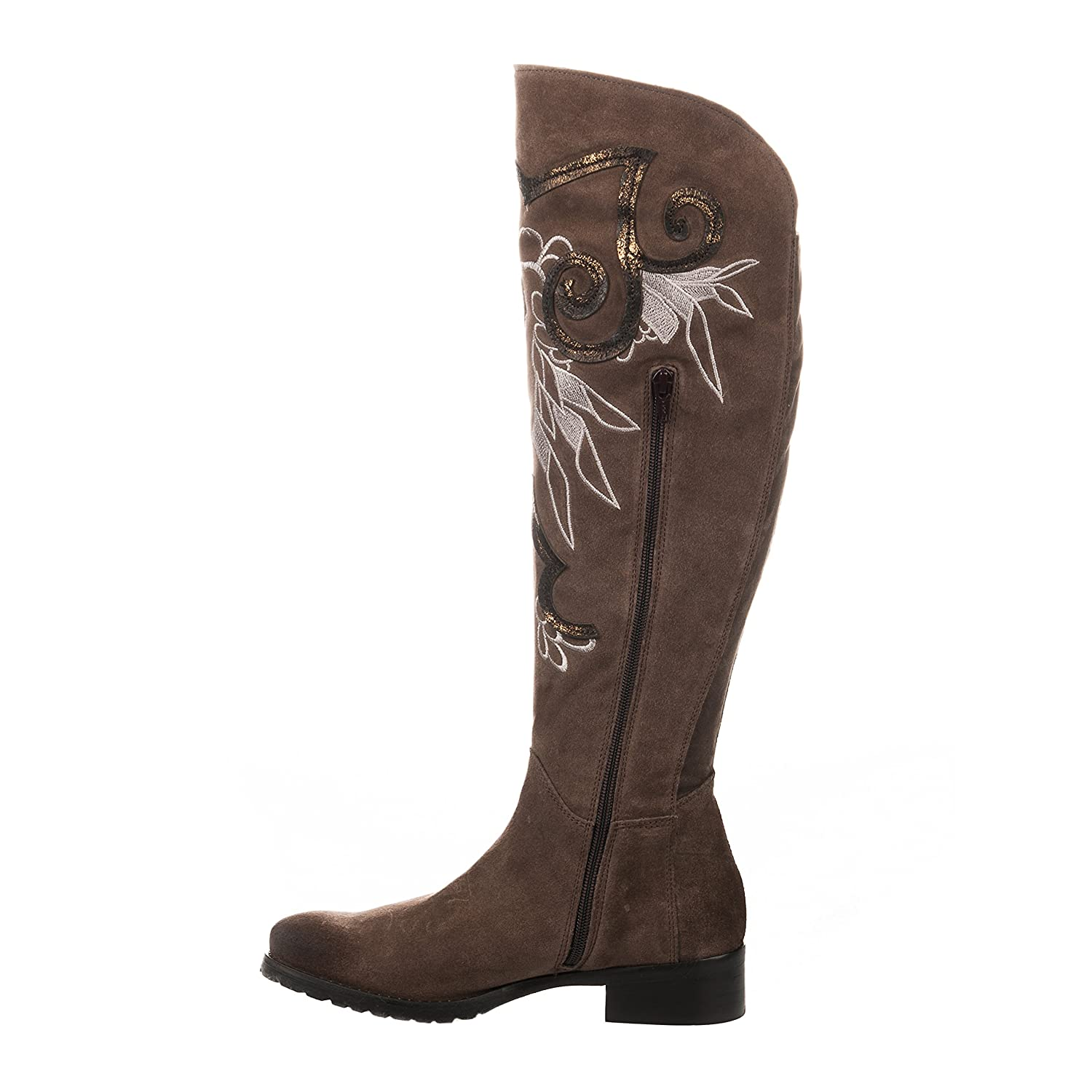 Chaussures Sacs Taupe Femme Miglio Et Cuissardes StanwA