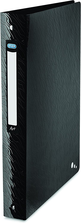 opaque 4 cm wei/ß PP ELBA 400060039/ClasseurArt Studio A4 4/anneaux