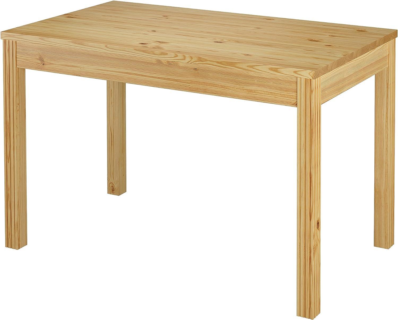 Erst-Holz V-90.70-54 - Mesa de Comedor Estrecha (Madera de Pino ...