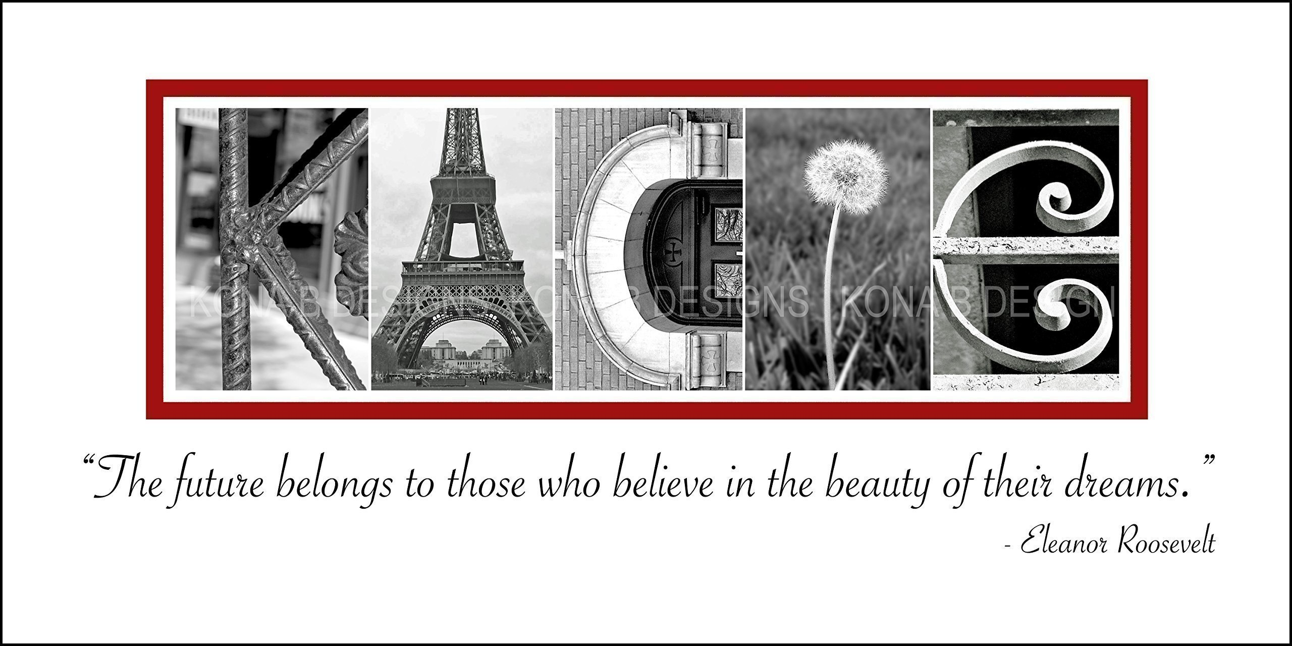 Personalized graduation gift - Graduation Gift - Creative Letter Art - Alphabet photography - Custom Child's name sign