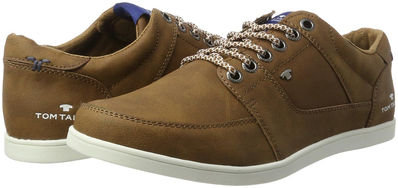 TOM Tailor 2780202, Zapatillas para Hombre, Braun (Nuts), 40 EU