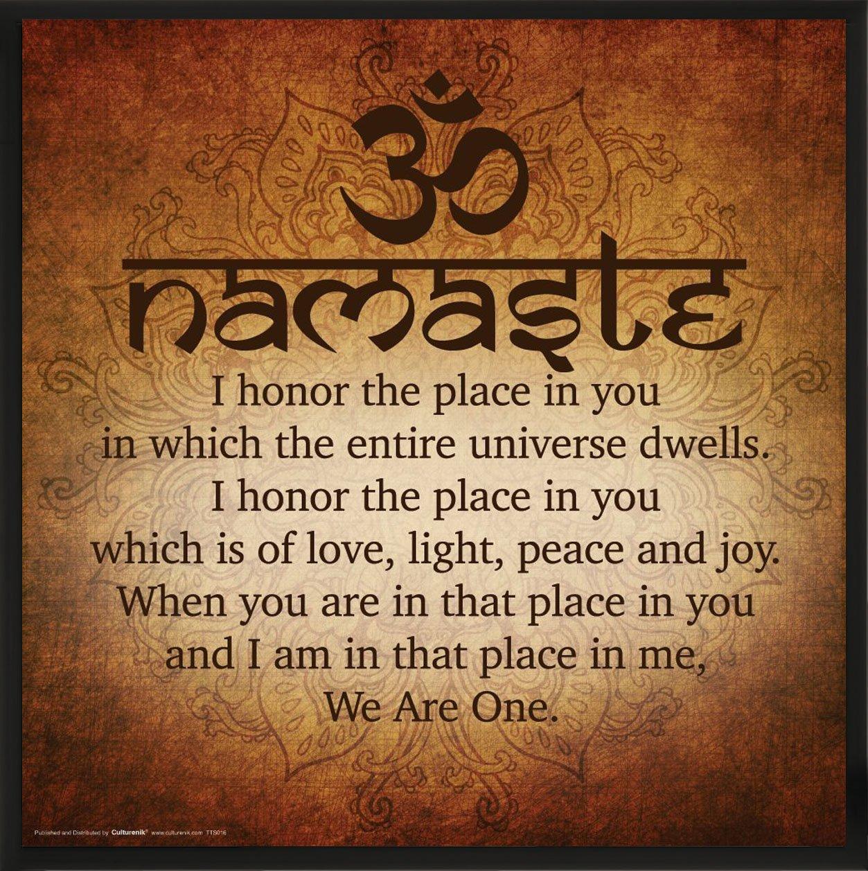 Amazon Namaste Buddhist Inspirational Motivational Spiritual