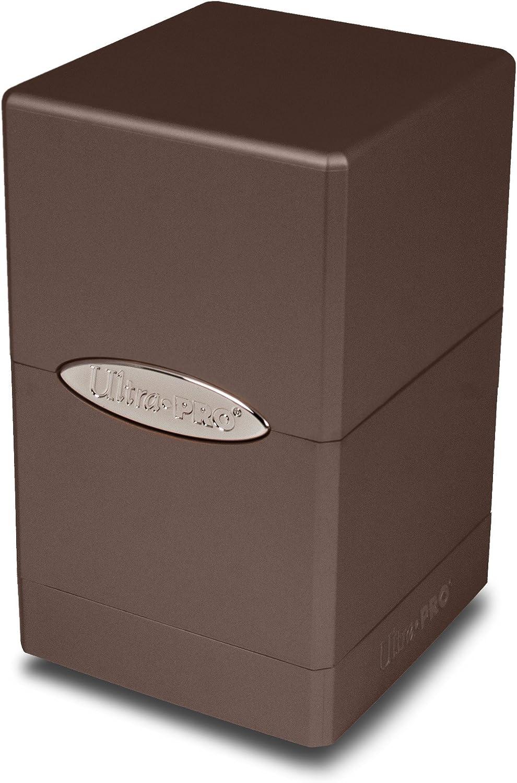 Ultra Pro E-84602 Metallic Dark Chocolate Satin Tower, Adultos Unisex: Amazon.es: Deportes y aire libre