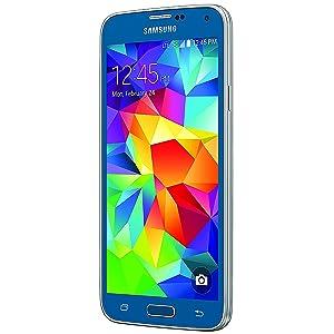 Samsung Galaxy S5, Electric Blue 16GB (Verizon Wireless)