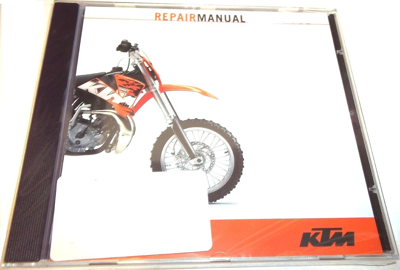 Amazon.com: NEW KTM OEM REPAIR MANUAL DISK DVD 2009-2011 65 SX XC 3206096:  Automotive