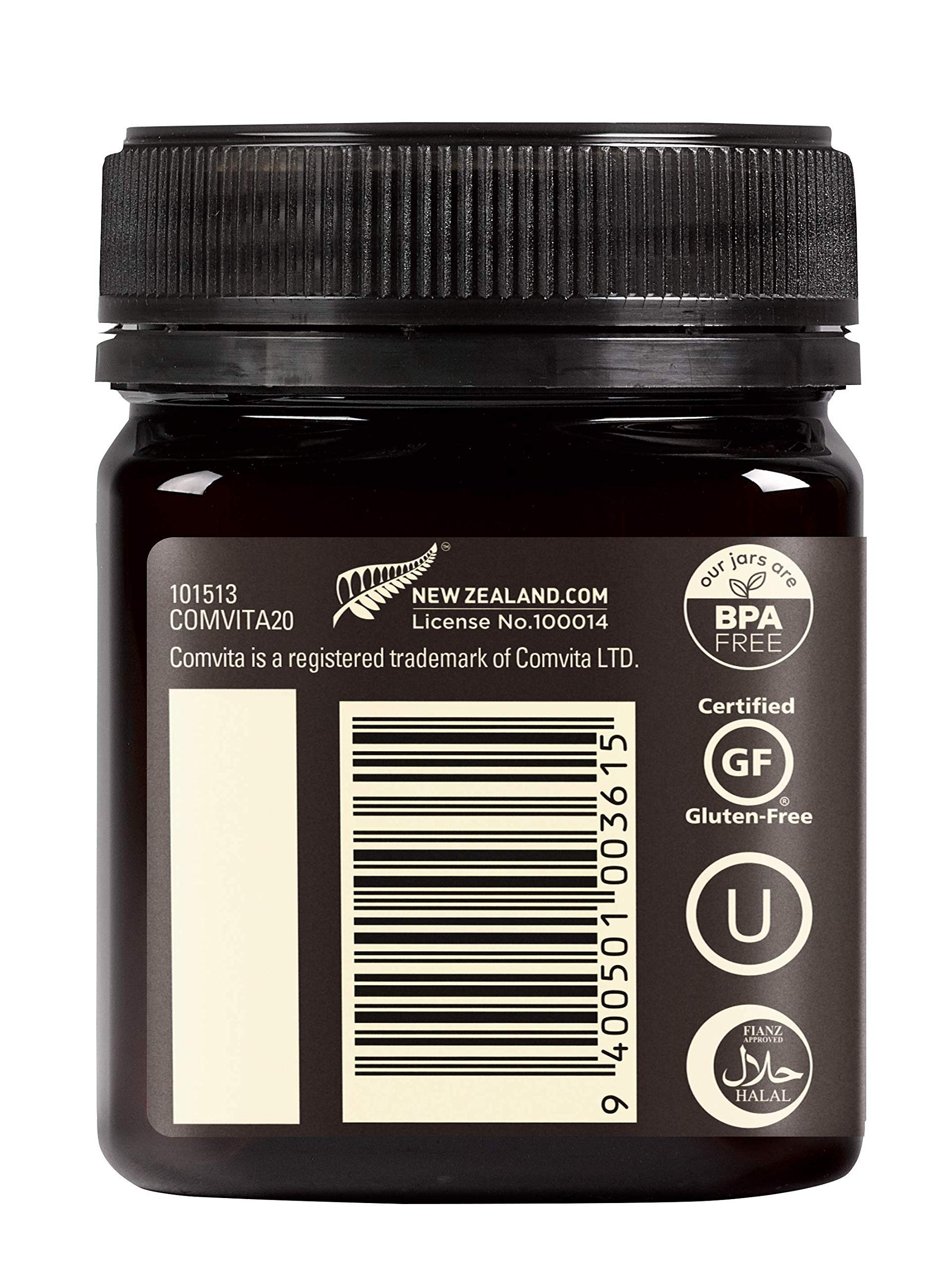 Comvita UMF 10+ (MGO 263+) Raw Manuka Honey | 8.8 oz I New Zealand's #1 Manuka Brand | Wild, Non-GMO I Premium Grade by Comvita (Image #5)