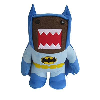 "Domo Batman Medium 9"" Plush, Blue: Toys & Games"