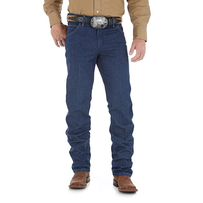 Wrangler Mens Premium Performance Cowboy Cut Regular Fit Jean