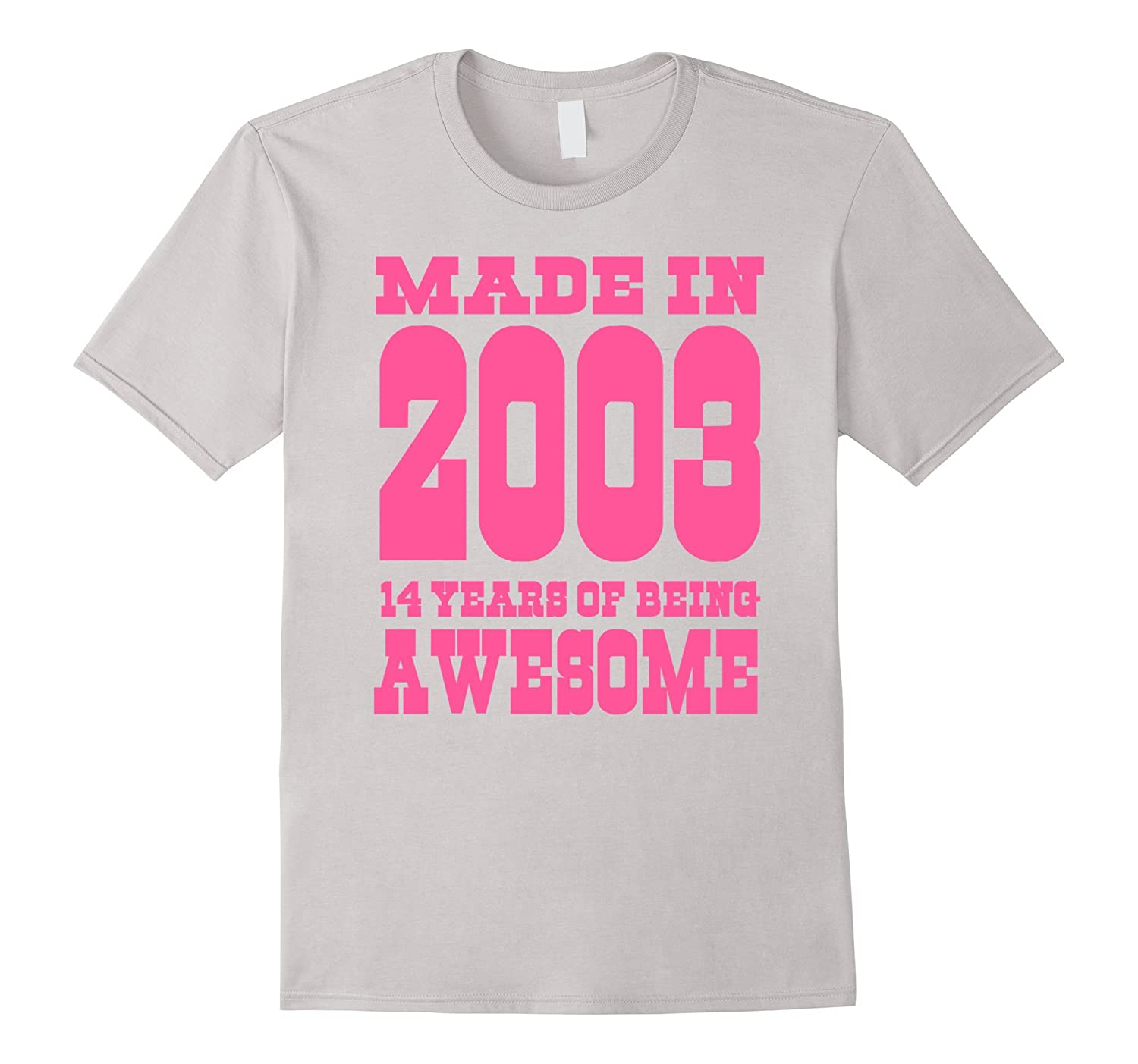 14th Birthday Gift Idea 14 Year Old Boy Girl Shirt 2003 TH