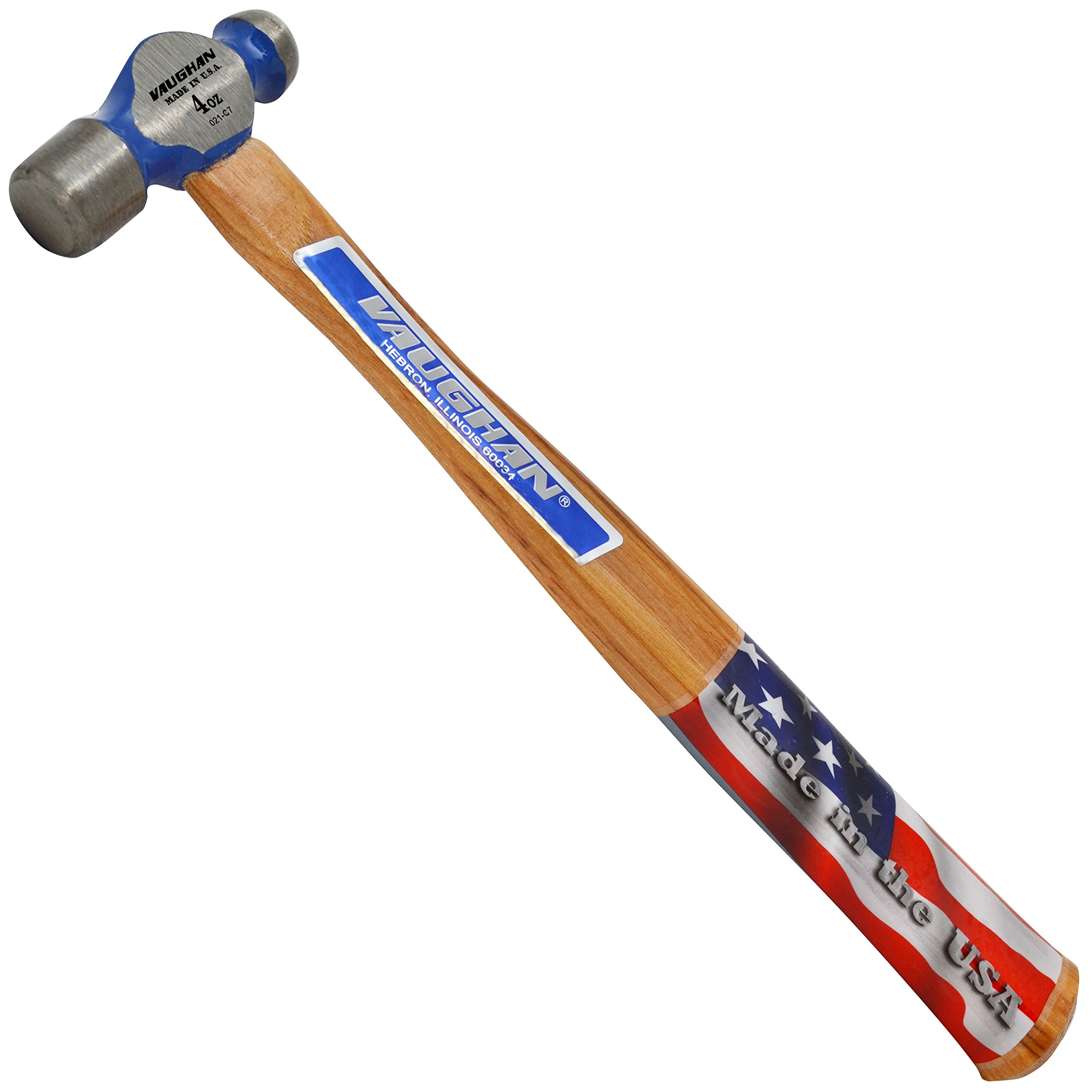 Vaughan TC504 4-Ounce Commercial Ball Pein Hammer