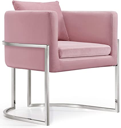 Swell Amazon Com Meridian Furniture 524Pink Modern Contemporary Ocoug Best Dining Table And Chair Ideas Images Ocougorg