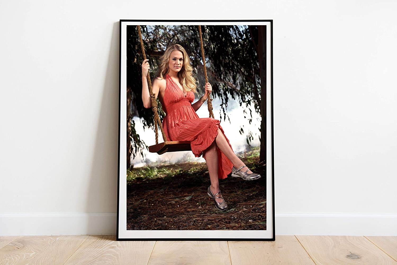 "Carrie Underwood Poster Wall Decor Poster Print Canvas Art Wall Art Print Gift Poster Unframed Printing Size - 11""x17"" 18""x24"" 24""x32"" 24""x36"" (M - 18""x24"" (46x61cm))"