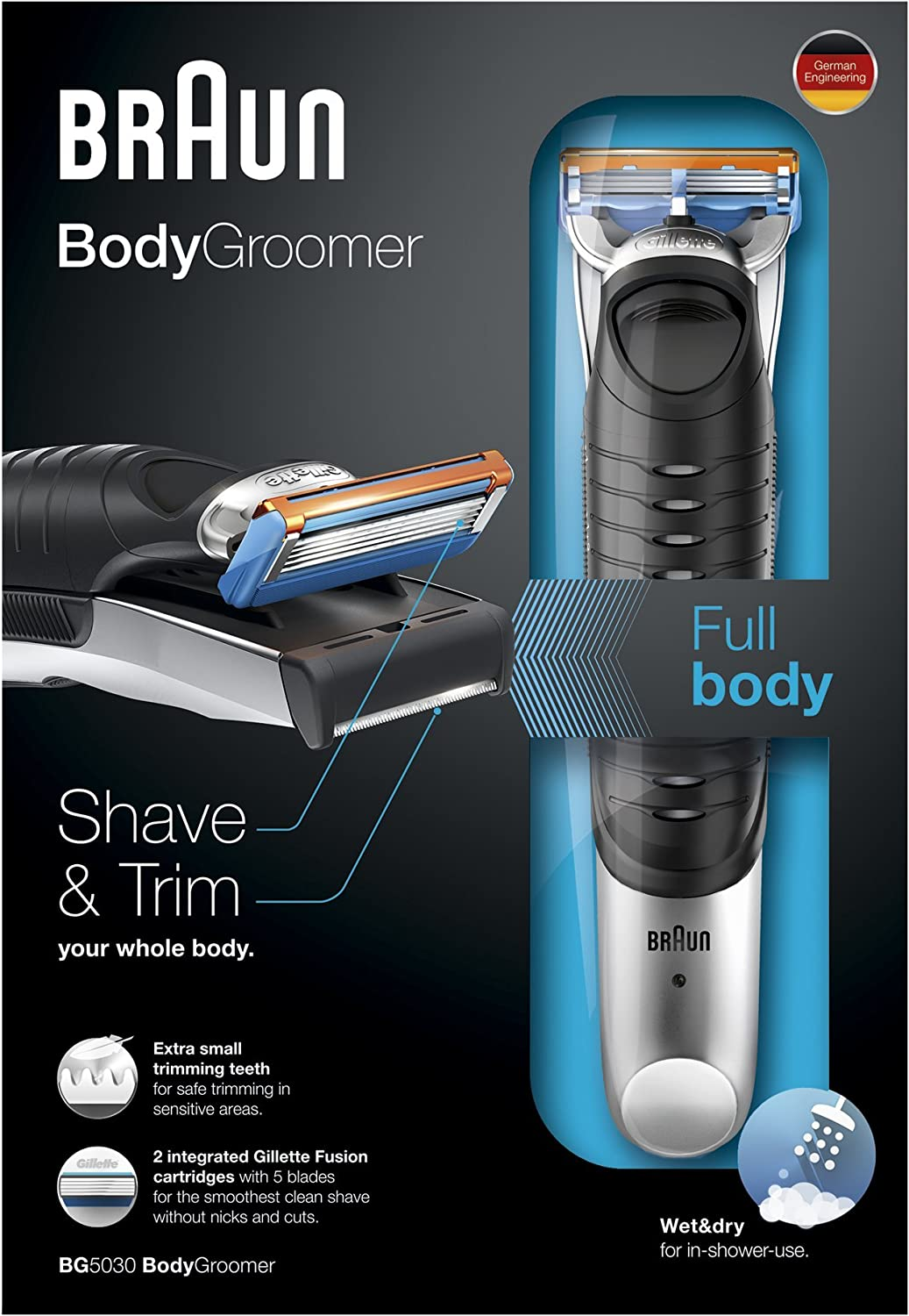 Braun BG5030 Body Trimmer by Braun: Amazon.es: Salud y cuidado ...