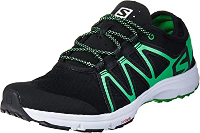 Salomon Crossamphibian Swift, Zapatillas de Trail Running para Hombre, Negro (Black/Black/Classic Green), 42 EU: Amazon.es: Zapatos y complementos