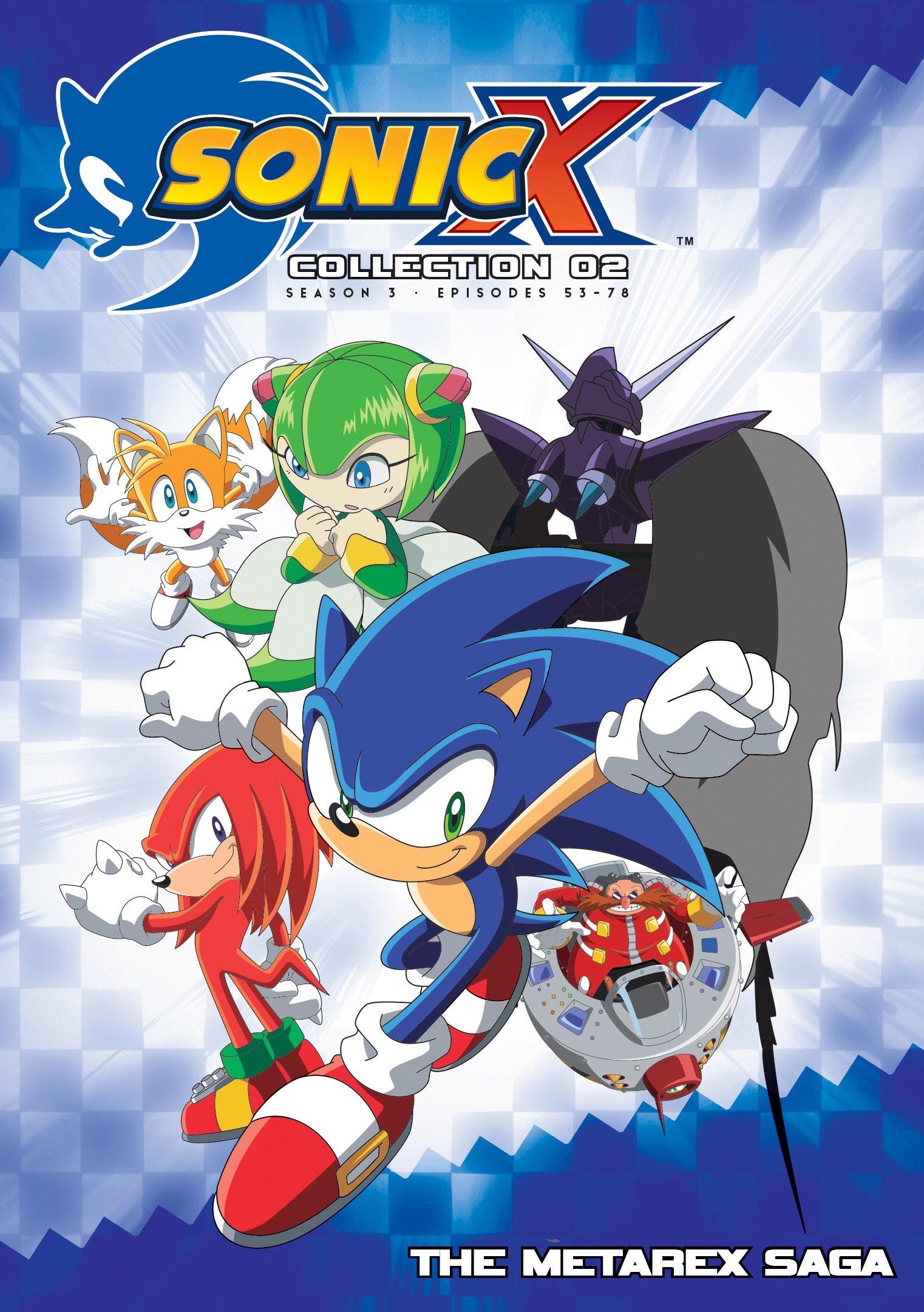 DVD : Sonic X: Complete Season 3 (DVD)