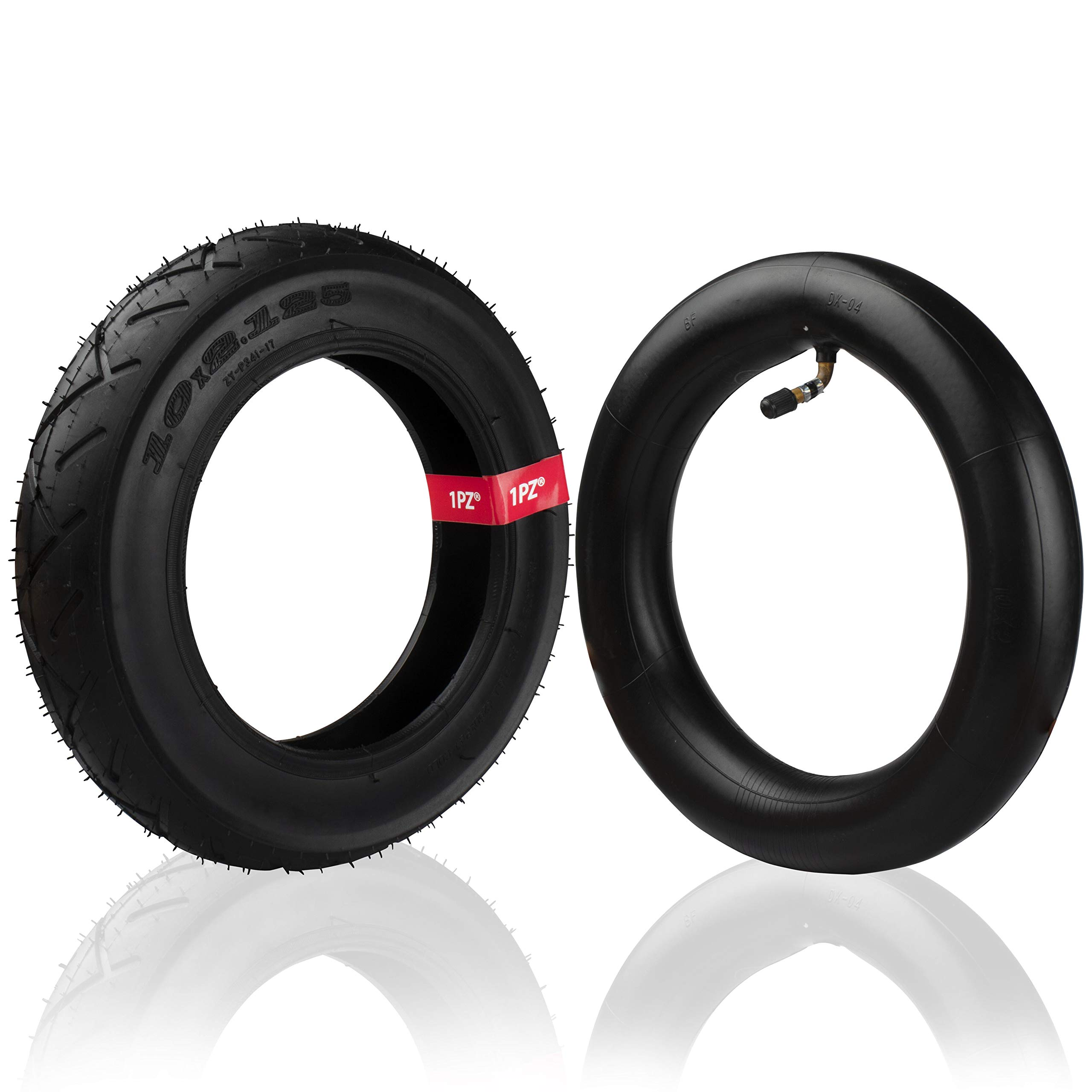1PZ ITX-RFS Rear Tire and Inner Tube for Folding Electric Bicycle (Rear 10'' Tube+Tire)