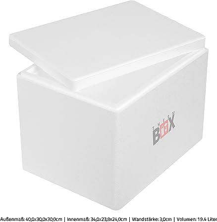 THERM-BOX Caja de Espuma de poliestireno 19W   Interior ...