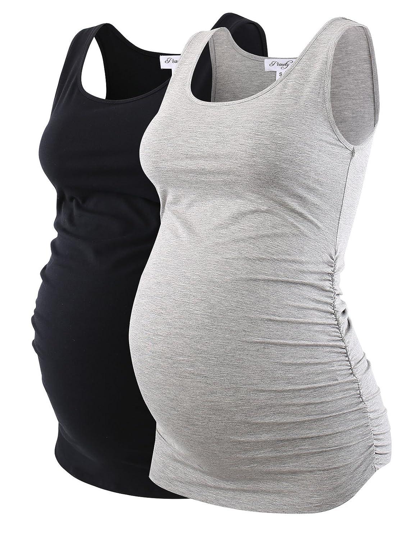 Peauty SHIRT レディース B07C684VMJ Medium|Black+grey Black+grey Medium