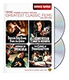 TCM Greatest Classic Films Collection: Hammer Horror (Horror of Dracula / Dracula Has Risen from the Grave / The Curse of Frankenstein / Frankenstein Must Be Destroyed)