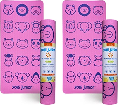 Amazon.com: Yogi Junior Kids esterilla de yoga - libre de ...