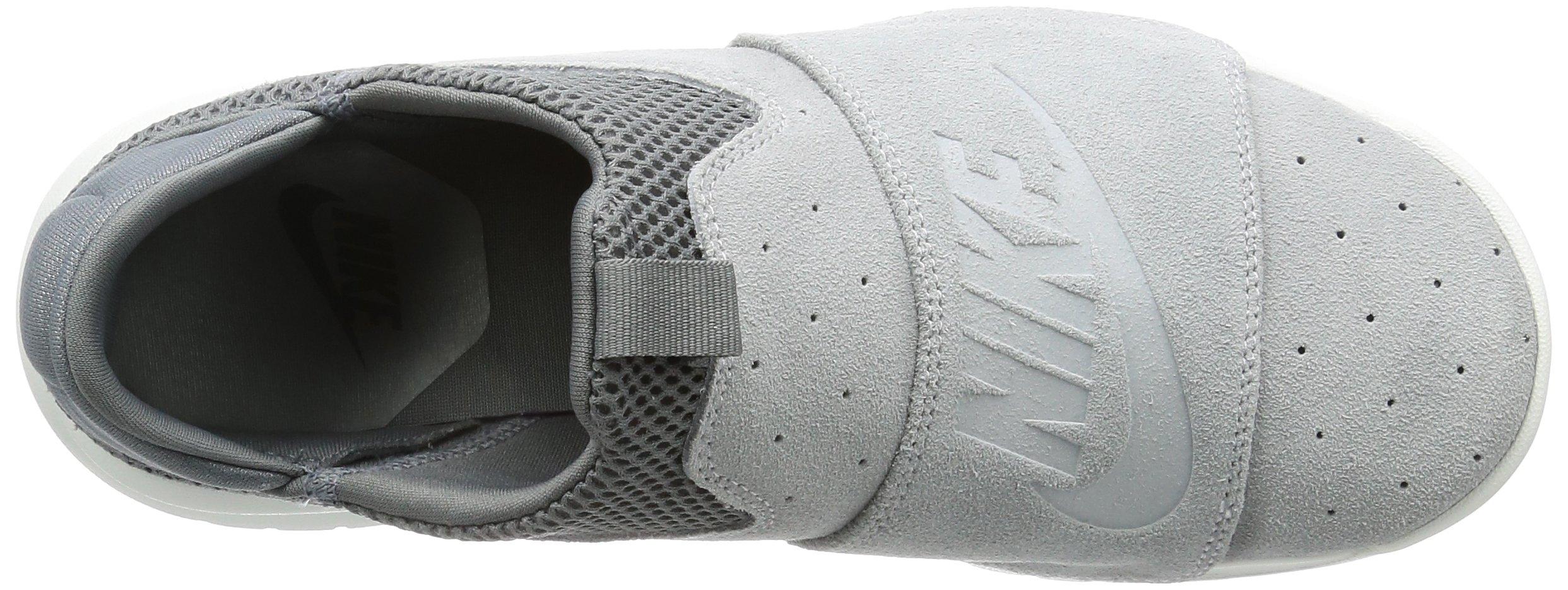 New Nike Men's Benassi Slip Sneaker Grey/Off White 8