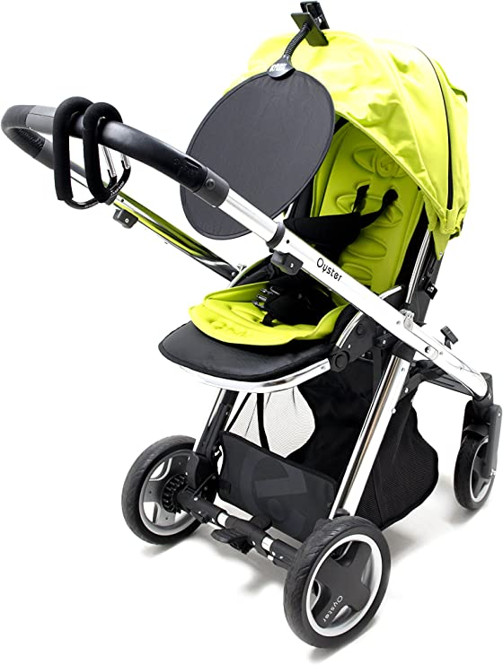 New in pack My Buggy Buddy blue stars clip on sun shade for pram /& pushchair
