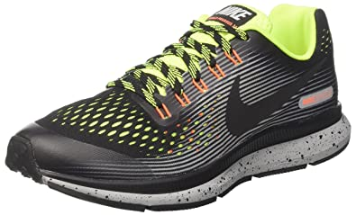 aa634b4cf09f Nike Boys   Zoom Pegasus 34 Shield (Gs) Running Shoes  Amazon.co.uk ...
