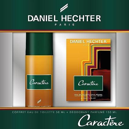 Daniel Hechter - Estuche perfume carácter con desodorante: Amazon ...
