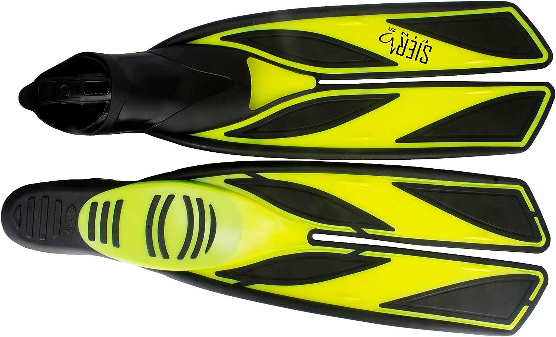SALVAS Geräte Schwimm Flosse Shark Apnoe Scuba Lang Frei Tauchen Taucher 40-47
