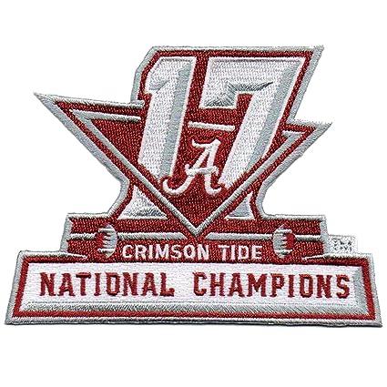 6ba3e037ff7 2017 College National Champions Alabama Crimson Tide NCAA Football Patch