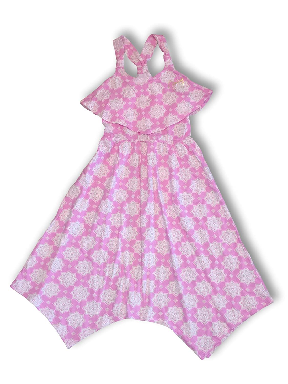 8b8f8cc5c1b6 Amazon.com  Juicy Couture Girls Summer Popover High-Low Sun Dresses  Colorful   Stylish  Clothing
