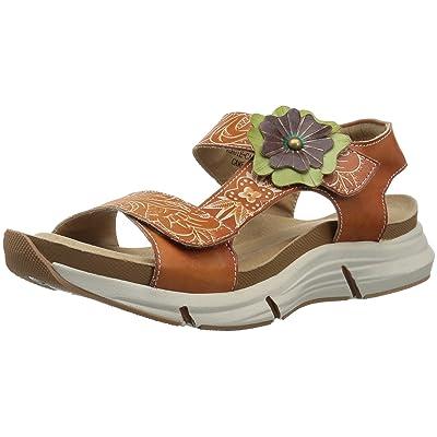 L'Artiste by Spring Step Women's VERGIE Sandals, camel, 38 M EU (US 7.5-8) | Sport Sandals & Slides