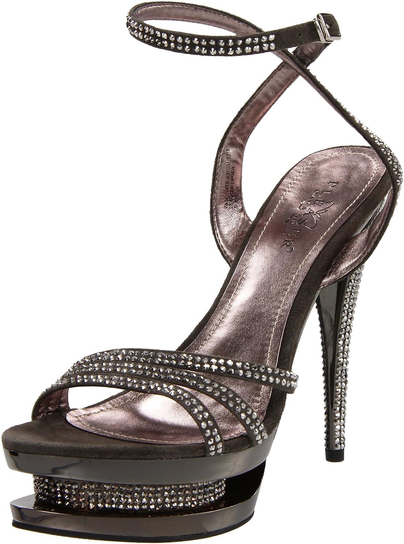 624ef4c65974d Pleaser Women's Fascinate-637DM/DGYS/M Platform Sandal