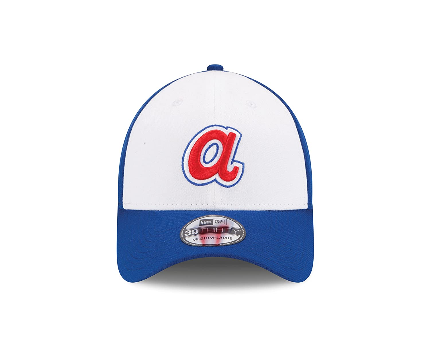 cb0be0a72a1 Amazon.com   New Era MLB Cooperstown Team Classic 39THIRTY Stretch Fit Cap    Sports   Outdoors