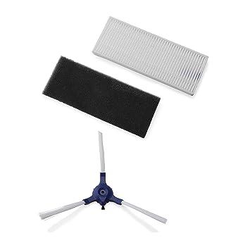Rowenta Filtros y Cepillos Rowenta ZR6901R1 - Accesorio para Smart Force Essential incorpora 2 cepillos laterales, filtros de alta filtración y filtro de ...