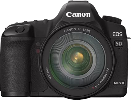 Canon EOS 5D Mark II - Cámara Réflex Digital 21.1 MP (Objetivo EF ...
