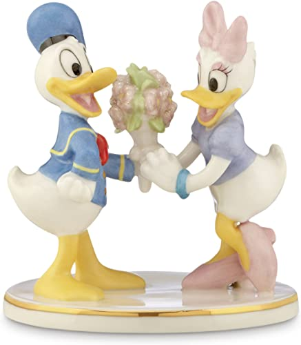 Lenox Classics Disney s Donald Daisy Together Forever Figurine