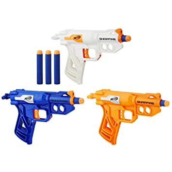 Nerf water guns for the birthday goodie bag!