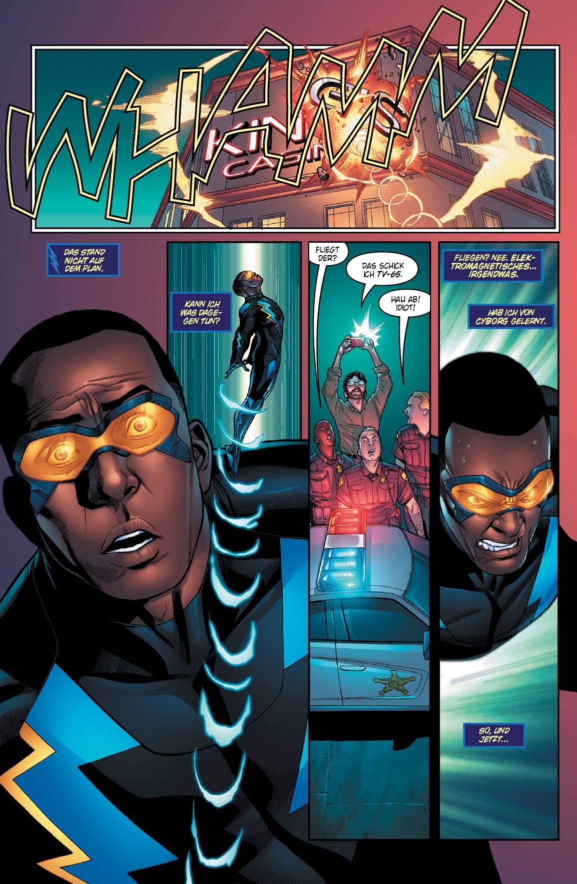BLACK LIGHTNING FINGER AM ABZUG   Panini Comics  2018
