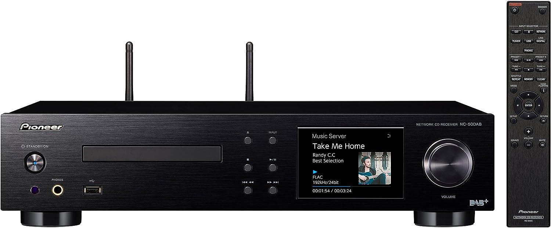 Pioneer NC-50DAB-B - Network Media Player (Reproductor de CD, Reproductor de Red, Radio Digital y por Internet)